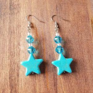 Jewelry - Sailor Mercury Star Earrings/Sailor Mercury